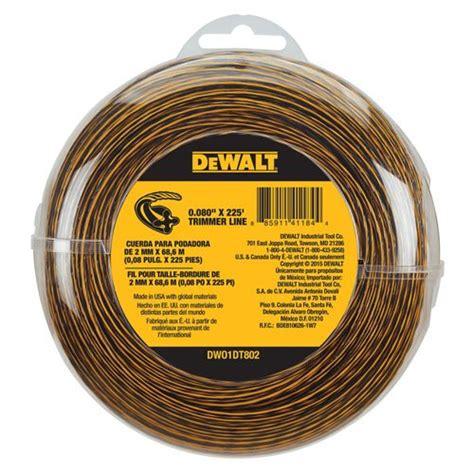 weed string eater dewalt strings weedeater guide