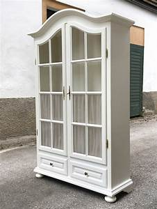 Shabby Chic Vitrine : vitrine wei sprossen shabby chic k chenschrank ~ Eleganceandgraceweddings.com Haus und Dekorationen