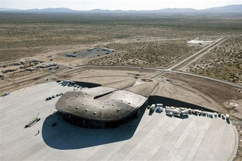 世界初の商業宇宙港「スペースポート・アメリカ」
