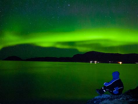 how to take pictures of the northern lights
