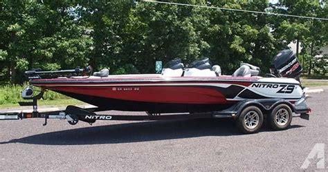 Nitro Bass Boat Financing by 2013 Nitro Z9 Bass Boat 20 Foot 2013 Nitro Boat In