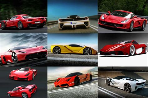 All Models Of by New F70 Concept Render