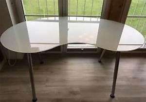 Schreibtisch Glas Ikea : schreibtisch ikea galant glas rund in m nchen ikea m bel kaufen und verkaufen ber private ~ Frokenaadalensverden.com Haus und Dekorationen