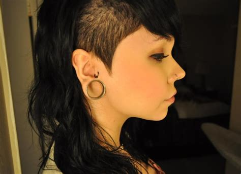 shaved sides hairstyles for women shaved sides