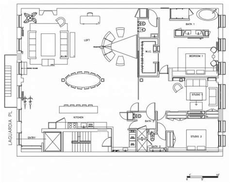 fresh house plans with lofts new york studio apartments floor plan with loft apartment
