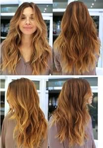 Long Layered Haircut for Wavy Hair