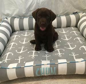 Custom dog bed for labrador puppy hand made by j39adore for Dog bed for labrador