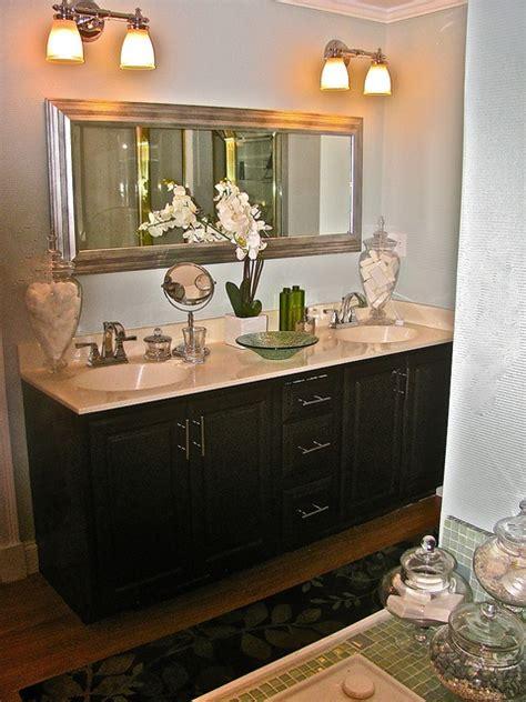Black Bathroom Fixtures Decorating Ideas by Black Bathroom Counter Like The Light Fixtures