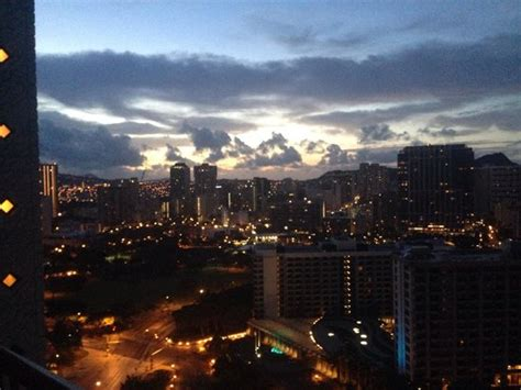 From room 2535 25th floor Tapa Tower  Picture of Hilton