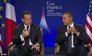 French president Sarkozy dismisses the English saying 'you ...