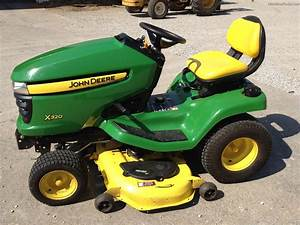 2007 John Deere X320 Lawn  U0026 Garden And Commercial Mowing