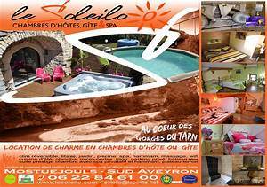 hebergement insolite sud aveyron chambre avec spa privatif With chambres d hotes aveyron avec piscine