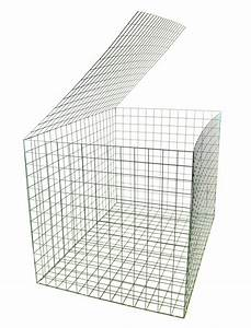 Gabion basket green pvc mm m retaining wall