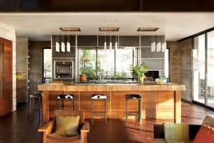 modern interior design kitchen modern and warm kitchen interior design of the brown residence by craig schultz california
