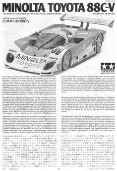 40 Best Tamiya 1/24 Minolta Toyota 88C-V images | Drag