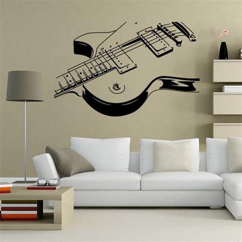 guitar  wall art decal decor vinyl dance musical