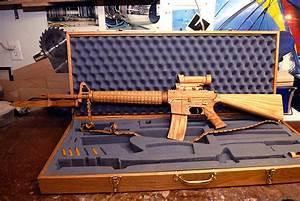 A Wooden AR 15 Replica The Firearm BlogThe Firearm Blog