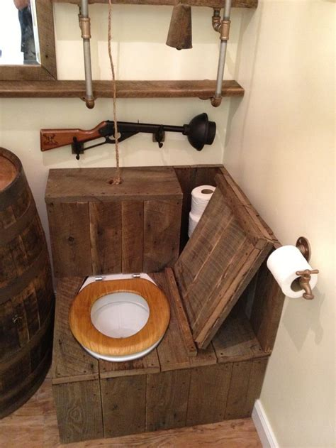 bathroom toilet 9 best the ultimate quot bathroom quot images on Rustic