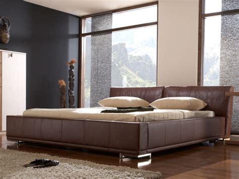 EchtLederbett Doppelbett Ehebett 160x200 braun 13418 eBay
