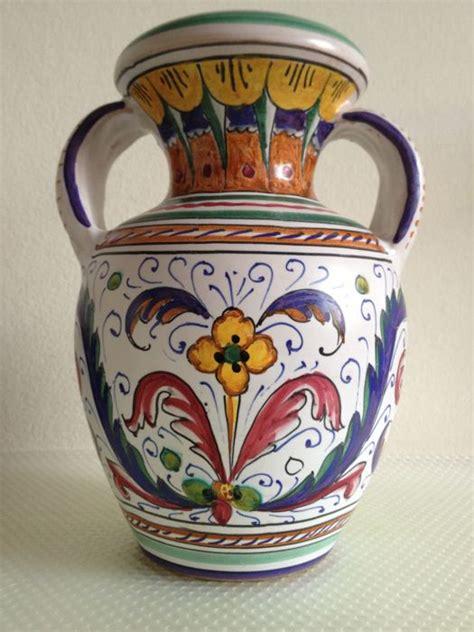 vaso deruta ars deruta 1492 20 vaso ceramica catawiki