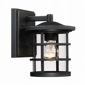 shop quoizel asheville 875 in h dark oil rubbed bronze With outdoor lighting asheville nc