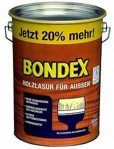 Holzlasur Farben Aussen : bondex holzlasur f r au en 4 8 l teak 20 mehr holzschutz farben innendeko haas baumarkt ~ A.2002-acura-tl-radio.info Haus und Dekorationen