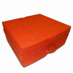Matratze 100 X 70 : schaumstoff matratze klappmatratze g stebett orange 190 x 70 x 9 cm ~ Markanthonyermac.com Haus und Dekorationen