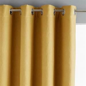 La Redoute Rideau Occultant : rideau occultant pur lin lav brune am pm la redoute mobile cortinas ~ Melissatoandfro.com Idées de Décoration