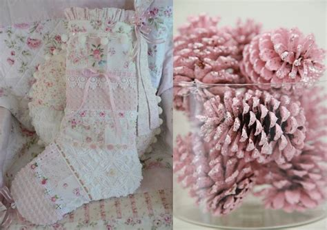 amazing shabby chic christmas decoration ideas feed
