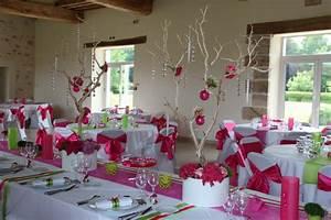Deco Vert Anis : decoration mariage fushia et vert anis ~ Teatrodelosmanantiales.com Idées de Décoration