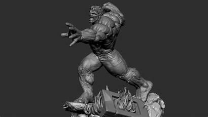 Hulk Zbrush Sculpture
