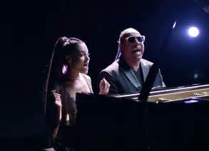 Ariana Grande and Faith by Stevie Wonder