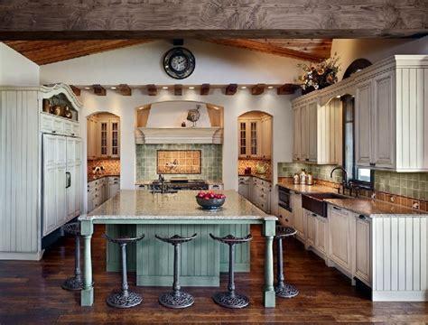 modern french farm house style farmhouse kitchen interior