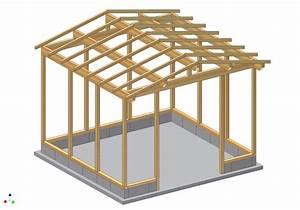 Plan Cabane En Bois Pdf : plan pour cabane de jardin en bois ~ Melissatoandfro.com Idées de Décoration