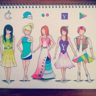 apps dress anazhthsh google social media   art