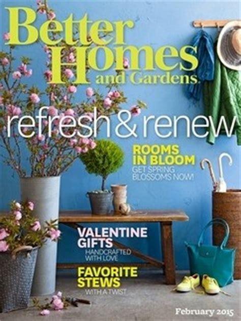 better homes and gardens magazine february 2015 eat