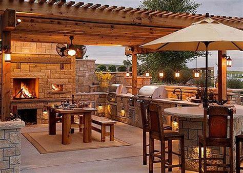 amazing outdoor kitchen ideas  designs