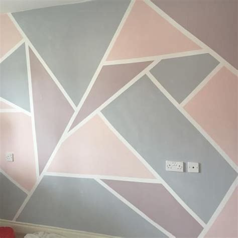painting geometric shapes on walls 17 best ideas about geometric wall on pinterest stenciled accent walls wall patterns and