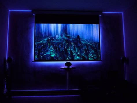 steps  build  ambilight  projector screen