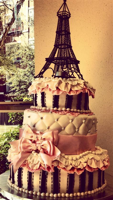 Paris Themed Baby Shower For Girl Cakecentralcom