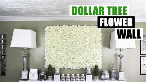 diy dollar tree flower wall diy floral wall home decor