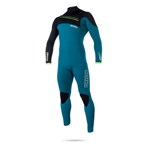 Mystic Drip 5&4mm FZ Winter Wetsuit in Teal - ATBShop.co.uk