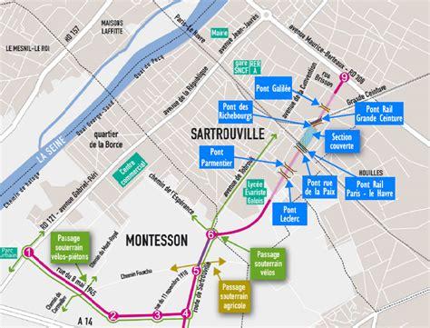 voie nouvelle d 233 partementale 224 sartrouville et montesson