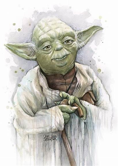 Yoda Transparent Olga Shvartsur