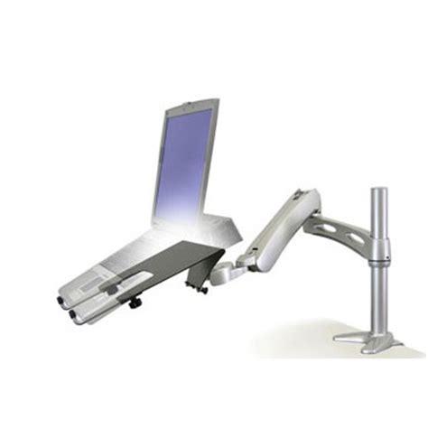 bureau pc portable ergotron lx bras de bureau pour pc portable coloris