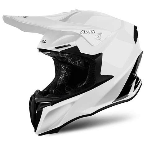 white motocross helmet airoh twist gloss white motocross mx helmet matt