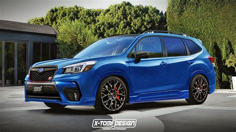 Here's What A New Subaru Forester Sti Would Look Like