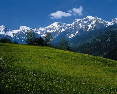 austria, Mountains, House, Landscape Wallpapers HD ...