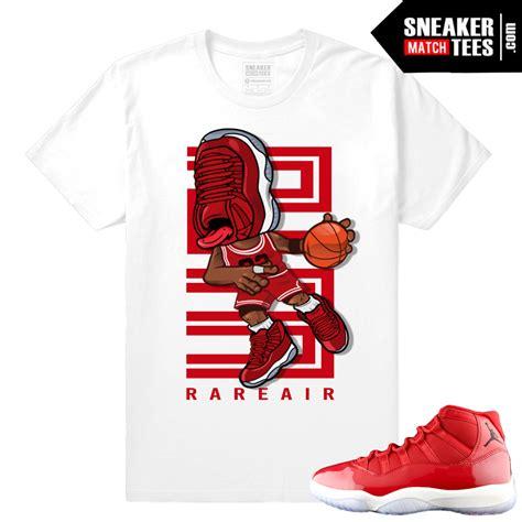 Sneakerhead Jordan 11 Gym Red tee shirts - SneakerMatchTees.com