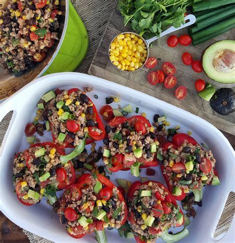 Taco Stuffed Bell Peppers Clean Food Crush